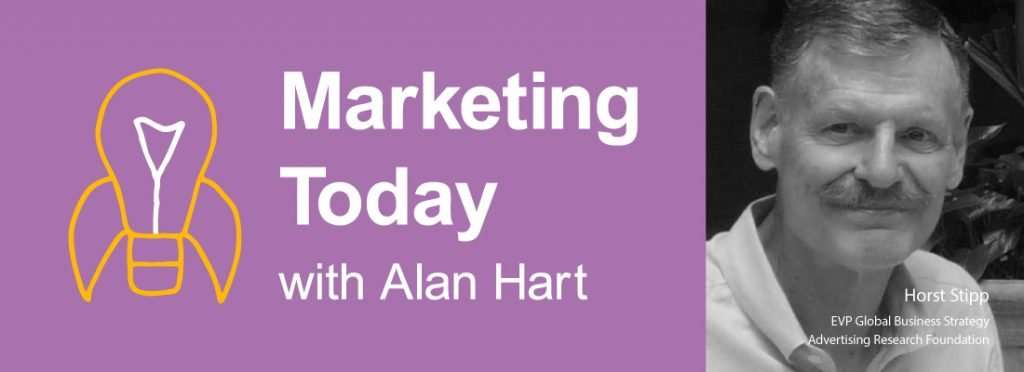 Horst Stipp on Marketing Today