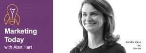 Jennifer Saenz on Marketing Today