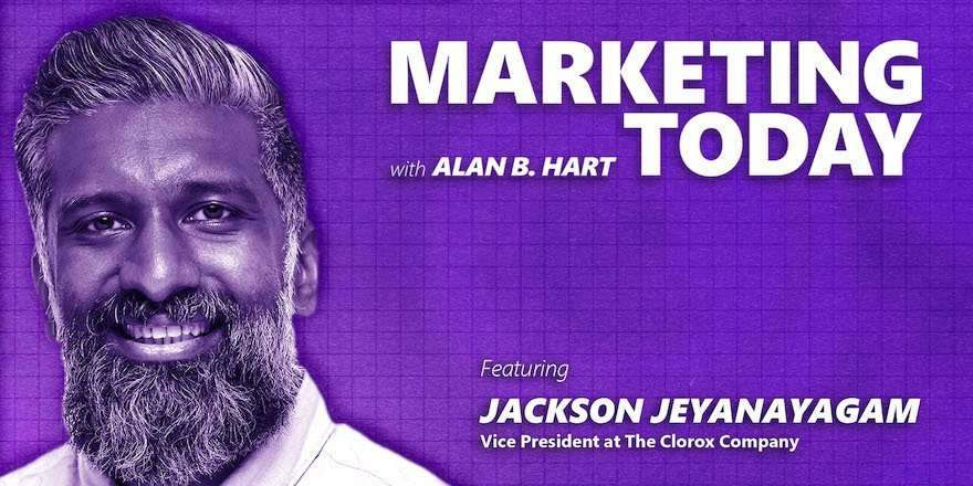 Jackson Jeyanayagam, GM of DTC at The Clorox Company