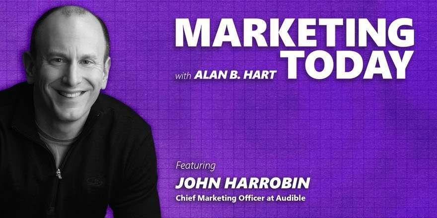 John Harrobin, Chief Marketing Officer, Audible