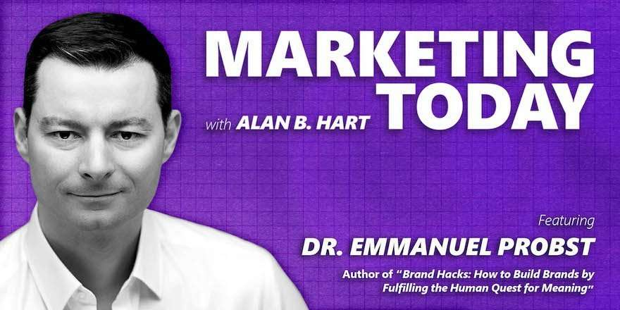 Emmanuel Probst, Author of Brand Hacks