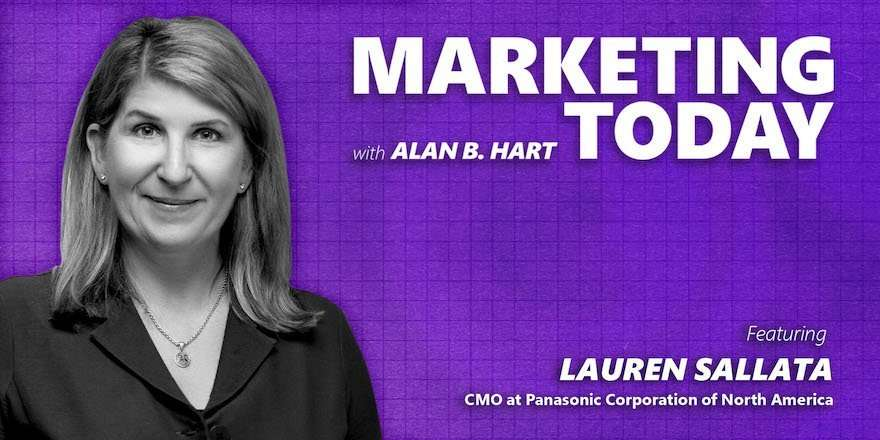 Lauren Sallata, CMO at Panasonic Corporation of America