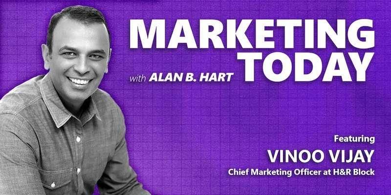 Vinoo Vijay, Chief Marketing Officer at H&R Block