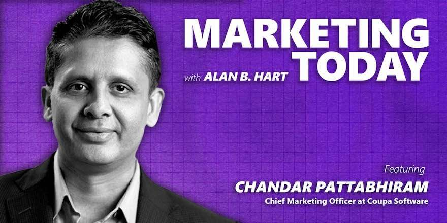 Chandar Pattabhiram, CMO at Coupa Software