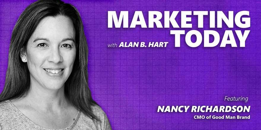 Nancy Richardson, CMO at Good Man Brand