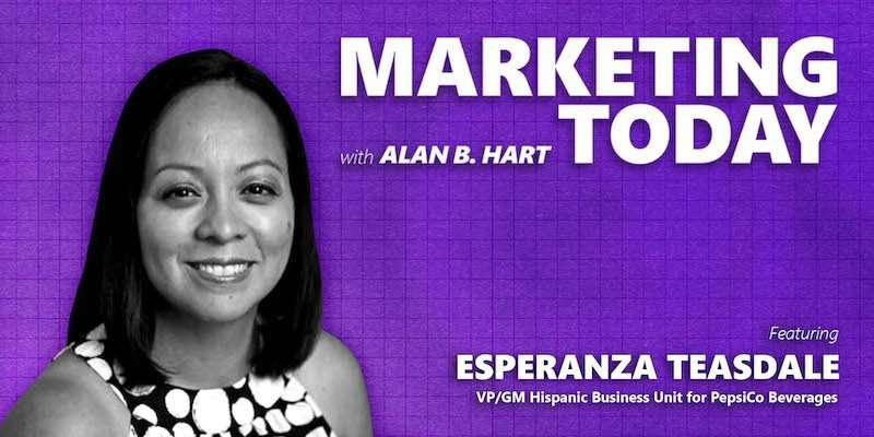 Esperanza Teasdale, GM and VP of Hispanic Business at PepsiCo Beverages