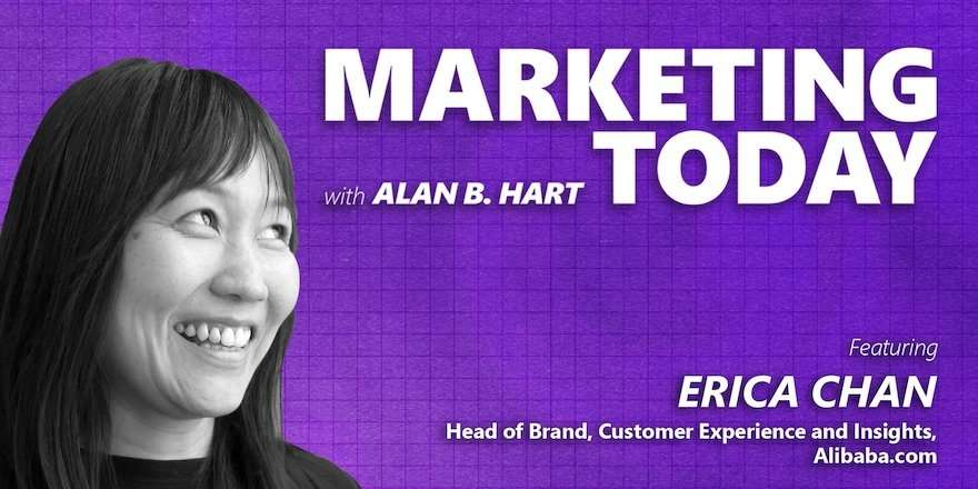 Erica Chan, Head of brand, experience and insights at Alibaba.com