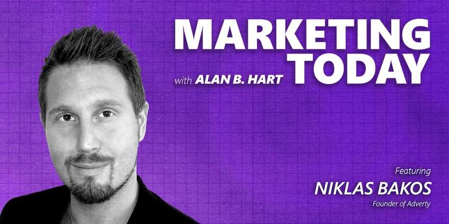 Niklas Bakos, founder and strategy at Adverty