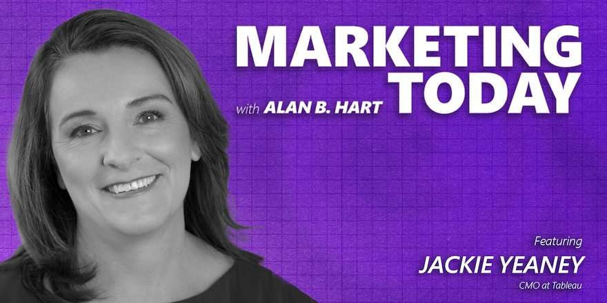 Jackie Yeaney, CMO at Tableau