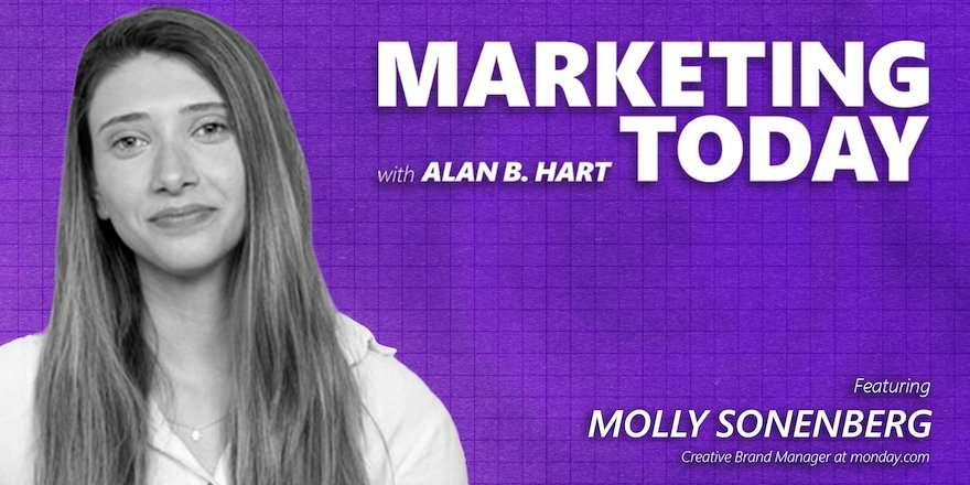 Molly Sonenberg, creative brand manager, monday.com